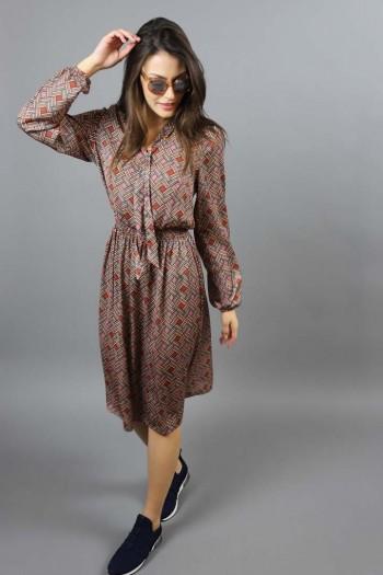 Sukienka wzór geometryczny
